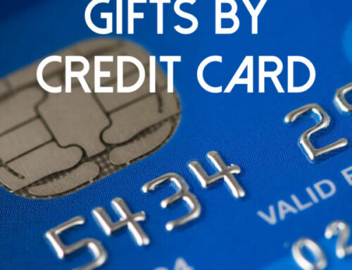 Gift by Credit Card