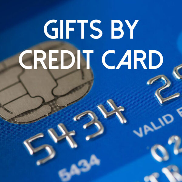 Gifts by Credit Card